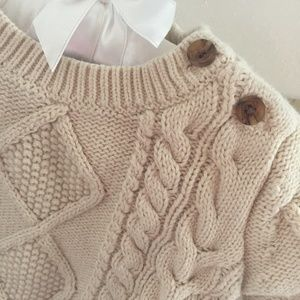 Gap 0-3 Month Cable-Knit Sweater